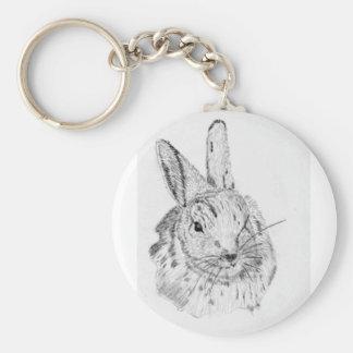 Rabbit Wild Keychain