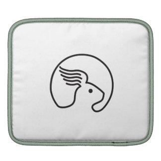 Rabbit Wing Ear Side Retro Sleeve For iPads