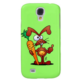 Rabbit with carrot iPhone 3 case