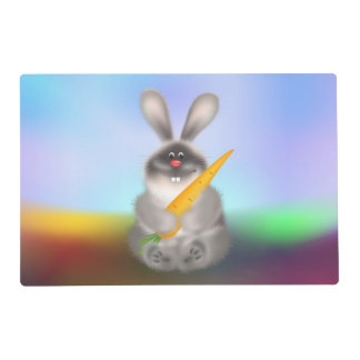 Rabbit with Carrot Placemat