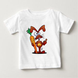 Rabbit with carrot t-shirt