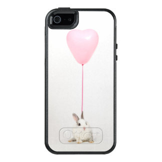 Rabbit With Pink Balloon OtterBox iPhone 5/5s/SE Case