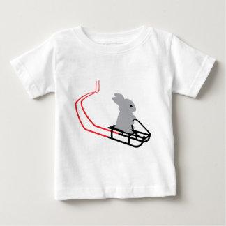 rabbit with toboggan icon baby T-Shirt