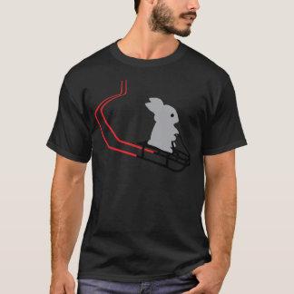 rabbit with toboggan icon T-Shirt