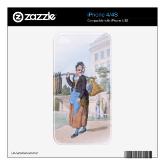 Rabbit Woman, from 'Costume of Great Britain', pub Skins For The iPhone 4