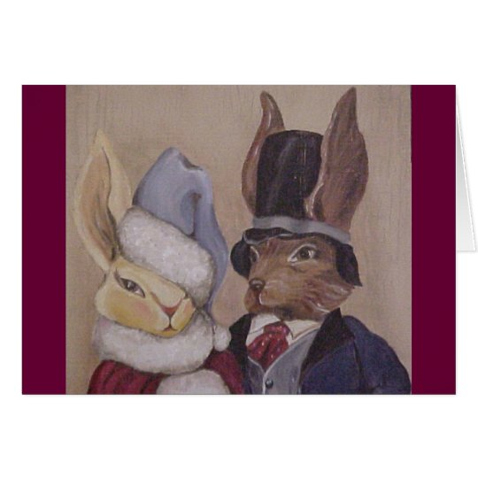RabbitCouple1 Card