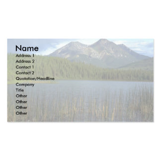 Rabbitkettle Lake in Nahanni National Park, NWT, C Double-Sided Standard Business Cards (Pack Of 100)