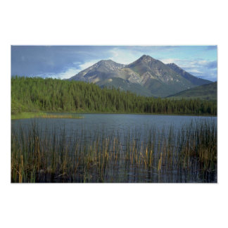 Rabbitkettle Lake in Nahanni National Park, NWT, C Poster