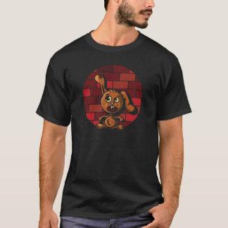 RabbitOnWall-forBlackShirt.png T-Shirt