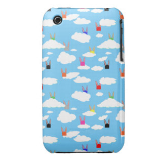 Rabbits and Rectangles for iPhone 3G/3GS Case-Mate iPhone 3 Case