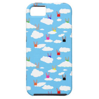 Rabbits and Rectangles iPhone Case
