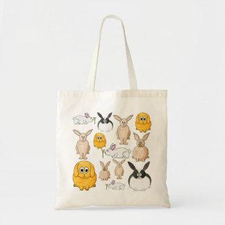 Rabbits. Budget Tote Bag