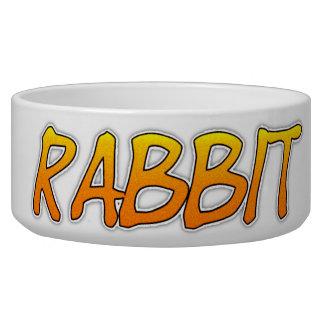 Rabbit's Bowl Pet Bowl