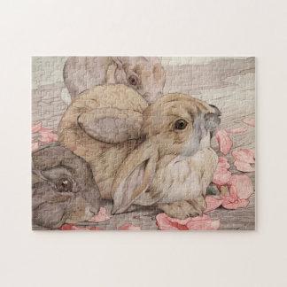 Rabbits by E. J. Detmold Puzzle