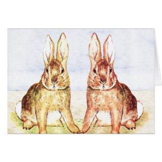 Rabbits Card