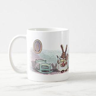 Rabbits Caring for Baby Bunny Coffee Mug