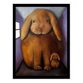 Rabbits Den Post Card