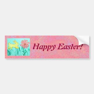 Rabbit's Garden Car Bumper Sticker