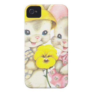 Rabbits iPhone 4 Cover