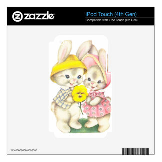 Rabbits iPod Touch 4G Skin
