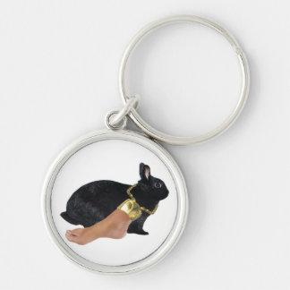 Rabbit's Lucky Human Foot Keychain