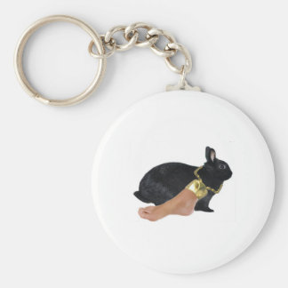 Rabbit's Lucky Human Foot Keychain