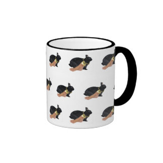 Rabbit's Lucky Human Foot Coffee Mugs