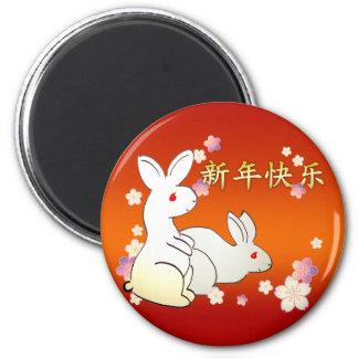 Rabbits Magnet