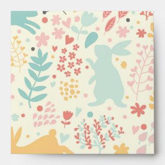 rabbits,nature,spring colours,easter,hipster,good envelope