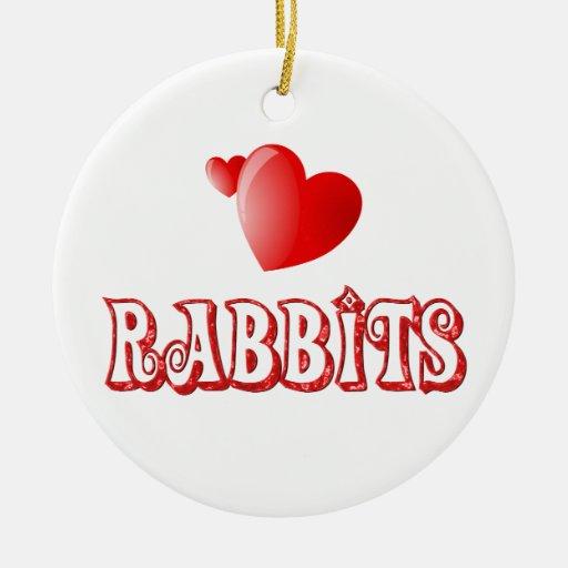 Rabbits Ornament