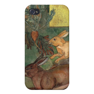 """Rabbits Redux""  by Elizabeth Van Riper iPhone 4/4S Case"