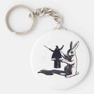 Rabbit's Revenge Basic Round Button Keychain