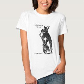 Rabbits Rock! Shirt