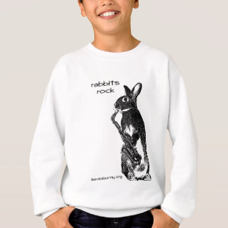 Rabbits Rock! Sweatshirt