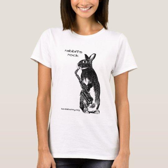 Rabbits Rock! T-Shirt