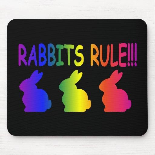 Rabbits Rule Mouse Pad | Zazzle