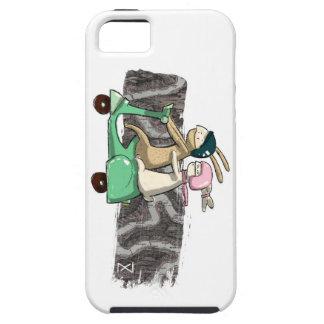 Rabbits travel iPhone SE/5/5s case