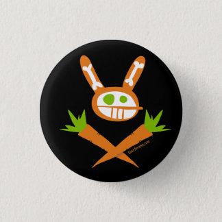 RabbitSkullconWEB Pinback Button