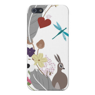 Rabbitt and feathers Speck Case