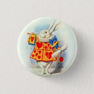 Rabbitt in Alice in Wonderland Pinback Button