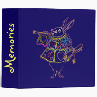Rabbitt in Alice Wonderland ~ Binder Album