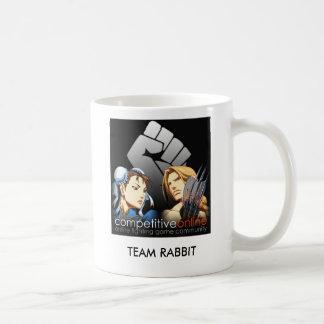 RabbitT, TEAM RABBIT Classic White Coffee Mug