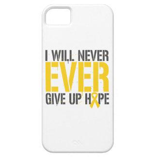 Rabdomiosarcoma Embryonal que daré nunca nunca Funda Para iPhone 5 Barely There