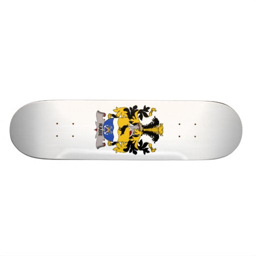 Rabe Family Crest Skateboards