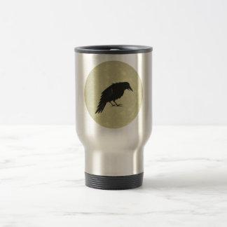 Rabe Mond raven moon Travel Mug