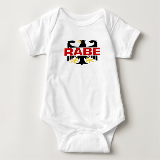 Rabe Surname Baby Bodysuit