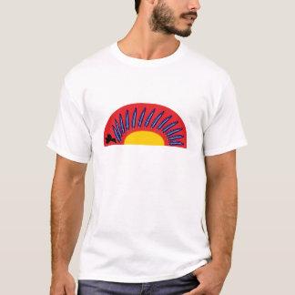 Raben feathers circle raven more feather circle T-Shirt