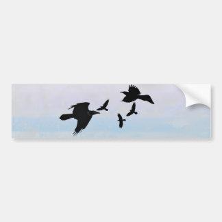 Raben raven bumper stickers