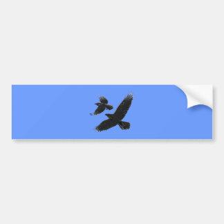 Raben ravens bumper sticker