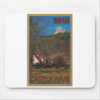 Rabi Castle Above the Trees Mouse Pad